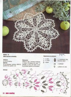 Kira scheme crochet: Scheme crochet no. Crochet Doily Diagram, Easter Crochet Patterns, Crochet Flower Tutorial, Filet Crochet, Irish Crochet, Crochet Sunflower, Crochet Flowers, Crochet Dollies, Crochet Lace