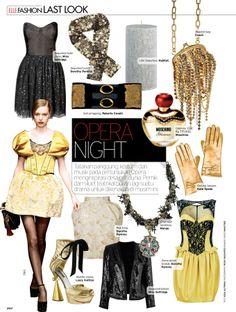 Elle Magazine Last Look - Opera Night