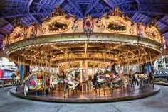 What would a visit to Luna Park be without a beautiful Carousel ride? Description from lunapark.com.au. I searched for this on bing.com/images