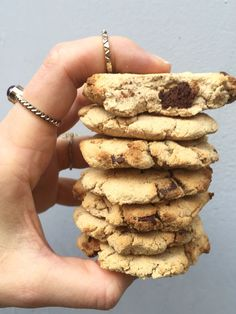 Hclf Banana Chocolate Chip Cookies