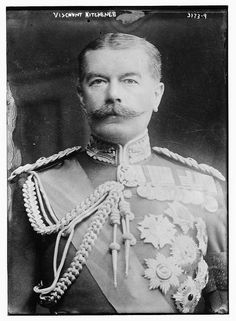 Field Marshal The 1st Earl Kitchener of Khartoum. WWI