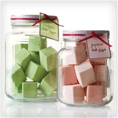 Our 25 Most Popular Gifts Bath Fizzies You don't have to spend a fortune to give out thoughtful gifts. These homemade bath fizzies will soothe and dissolve stress, one bath at a time. How to Make Bath Fizzies Next: Jade Beaded Necklace with Ribbon Homemade Beauty, Homemade Gifts, Diy Beauty, Homemade Products, Beauty Ideas, Homemade Paint, Homemade Things, Homemade Soap Recipes, Homemade Toys