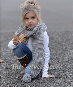This is a listing for The PATTERN ONLY for The Tussock Scarf  This scarf is handcrafted and designed with comfort and warmth in mind... Perfect for layering through all the seasons...  It would make a wonderful gift and of course also something great for you or your little one to wrap up in too.  All patterns written in standard US terms.  *Sizes are for Toddler, Child, and Adult *Any Bulky weight yarn  ***You can always contact me if you have any problems with the pattern. I am happy to…