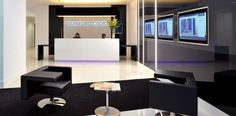 Luxury Welcoming and Impressive Lobby Area Interior Design of Wanford Court Office in London