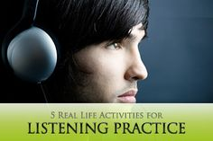 5 Real Life Activities for Listening Practice- This pin was meant for ESL students, but I believe its an important part of learning. Especially in high school and college where teachers speak faster than you can write, it's extremely important to have strong listening skills. A downfall to this pin is finding time to fit it in, and applying it to what your teaching. This isn't something that could be taught on its own or it will waste time and be easily forgotten by the student.