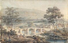 Matlock, 1794. Joseph Mallord William Turner