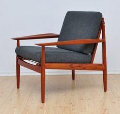 Fotel Glostrup duński design  A.Vodder lata 60 70