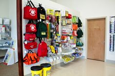 making an emergency station- Every home should have a well stocked emergency medical kit, including ALL your vehicles!