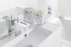 As the prominent trend for bathrooms unravels with a focus on art, KH ZERO 4 is a sublime centrepiece to complement a relaxing sanctuary - KH ZERO 4 Basin Monobloc Bathroom Tap from Kelly Hoppen