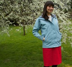 Lady Freeman. Waterproof and breathable. Yes!