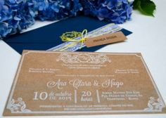 Ana Clara & Hugo – França Design Design, Personalized Stationery, Invitations, Save The Date Cards