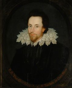 """""""Sir Thomas Overbury"""", attr. Marcus Gheeraerts the younger, 1613; University of Oxford LP 74"""