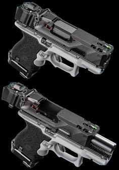 Want to load your magazines faster and easier without wearing out your thumbs? RAE Industries is your HERO! Get yours now and experience loading magazines without pain. Sci Fi Weapons, Weapons Guns, Fantasy Weapons, Guns And Ammo, Glock Guns, Robot Concept Art, Concept Weapons, Armor Concept, Arte Cyberpunk