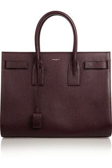 Saint Laurent Sac de Jour textured-leather tote | NET-A-PORTER