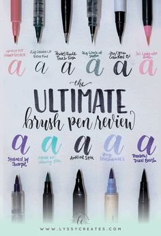 Ultimate Brush Pen Review