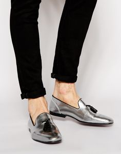 ASOS Tassel Loafers in Leather