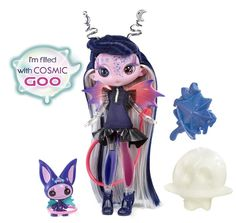 Tula Toned doll, her two-toned legs are filled with cosmic goo!