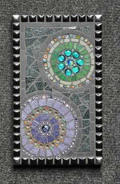 Mosaic planets. by thatcamelwoman., via Flickr
