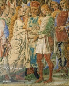 The month of June, 1468-1470 by Francesco del Cossa