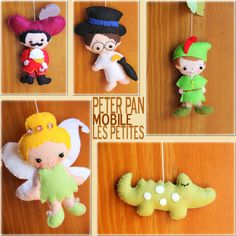 Peter Pan Mobile-Baby Mobile Baby Crib Mobile by LesPetitesshop