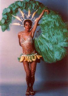 Diana Ross as Josephine Baker in Bob Mackie