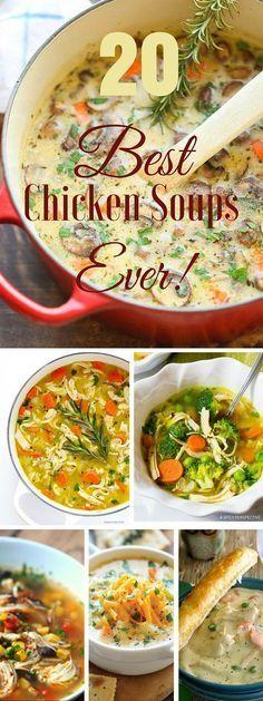 20 Best Chicken Soups Ever