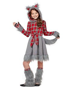 werewolf girl costume this is what emma actually wants to be werewolves pinterest to be girl costumes and werewolf costume - Wolf Halloween Costume Kids