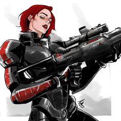 Femshep,Commander Shepard,ME персонажи,Mass Mass Effect Characters, Mass Effect Games, Mass Effect Art, Sci Fi Characters, Mass Effect Universe, Black Widow Scarlett, Commander Shepard, How To Make Comics, Science Fiction Art