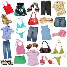 What to Pack for a Stylish Beach Trip - Dot Com Women Core Wardrobe, Capsule Wardrobe, Beach Vacation Wardrobe, Vacation Fashion, Flipflops, Stock Image, Tights Outfit, Beach Trip, What To Wear