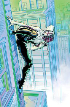 Spider-Gwendolyne - by RansomGetty | #comics #marvel #spiderwoman