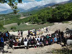 giovedì presso la Società Agricola I Ciacca, Picinisco sono stati presenti i ragazzi del Liceo Classico di Cassino -progetto sull'alimentazione-