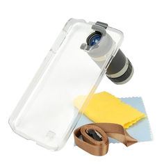8X Zoom Camera Lens Telescope With Phone Case For Samsung Galaxy S IV S4 i9500 - Free Shipping- - TopBuy.com.au