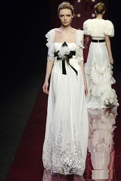 Elie Saab Fall 2006 Ready-to-Wear - Collection - Gallery - Look 1 - Style.com