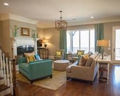 Image result for grey teal tan living room furniture ideas