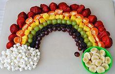 Pratos criativos com frutas