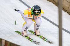 Der slowenische Skispringer Peter Prevc beim FIS Skispringen Weltcup in Engelberg / Schweiz | Fotojournalist Kassel http://blog.ks-fotografie.net/pressefotografie/fis-skispringen-engelberg-schweiz-fotografiert/