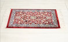 We present to you Turkis rug/area rug/ Red Carpet/Medium size rug/Handmade red carpet/Floral red carpet rug/Wool smooth rug / entryway rug/bathroom rug /Free Shipping 89 x 49 cm. Dimensions: Lenght 89 cm Widths:49 cm This rug is a floral and ambient design, and the main color is red. You can use it to pray on it, or you can keep it like a normal rug, which will bring joy in your homes, but especially in your hearts by designing. its floral and vintage. Materials:Cotton,Wool Rugs On Carpet, Red Carpet, Handmade Rugs, Handmade Gifts, Entryway Rug, Bathroom Rugs, Main Colors, Wool Rug, Pray