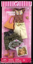 Barbie Fashion Fever Fashions Designed By Hilary Duff Shorts Skirt Top  NRFB