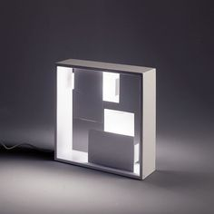 The Artemide Lighting Fato Light is a sculptural table lamp. Designed by Italian designer Gio Ponti