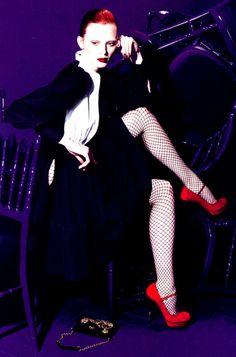 Karen Elson for Yves Saint Laurent S/S 2007