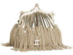 Chanel du Jour silver chain bag