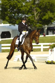 Karen O'Connor on Veronica at the Rolex Kentucky Three Day Event, currently in 2nd place. Go Karen!