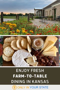 Enjoy fresh, delicious, farm-to-table dining at this charming farm restaurant in Kansas! It's great for date night and special events and can accommodate groups and parties. Farm Restaurant, Adventure Bucket List, Local Attractions, Yummy Drinks, Fine Dining, Small Towns, Travel Ideas, Kansas, Special Events