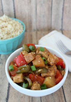 Crock Pot Sweet and Sour Chicken Recipe