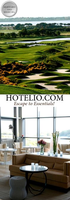 www.hotelio.com || The Argentario Golf Resort and Spa || The luxury resort includes 73 rooms and 1 cottage with an incredible view over the golf course, Monte Argentario's landscape or Orbetello Lagoon. Modern accommodation with the latest technology. #Luxury #luxuryTravel #luxuryhotels # #Hotels #Casalio #travel #tuscany (Pinned by #Casalio - www.casalio.com) Our travel blog www.casaliotravel.com