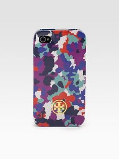Tory Burch  Printed iPhone 4G Case, this design is so cool, it's like high fashion camo.