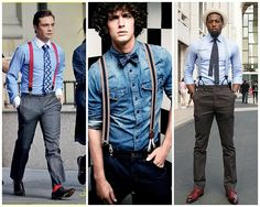 Le bretelle, un evergreen della moda maschile