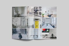 100 pages Portfolio Magazine Easily editable for easy understanding. Just drop in your own images and texts, and it's ready for work.