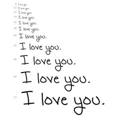 I love you. (Plz use!) ❤ liked on Polyvore featuring quotes, words, text, backgrounds, love, phrase and saying