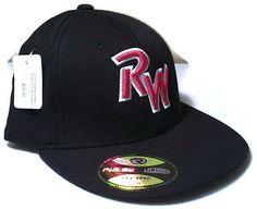 1b7f9161e27 Ridgewater College Willmar Mn Baseball Hat RW Richardson Cap Flexfit Black  L XL Baseball Hats